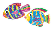 Flashy Fish Sparkle Stickers®