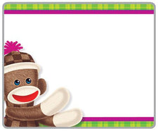 Sock Monkeys Name Tags