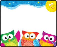 Owl-Stars!® Name Tags