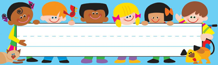 TREND Kids Desk Toppers® Name Plates