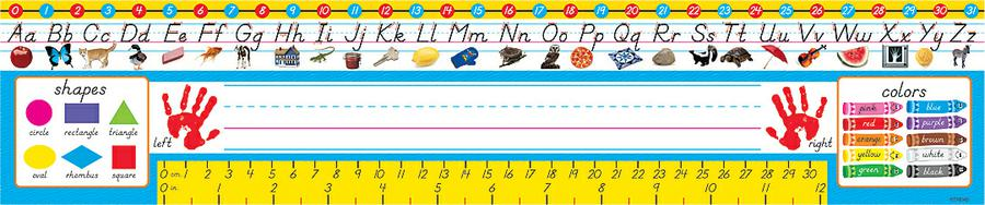 PreK-1 (Modern) Desk Toppers® Reference Name Plates