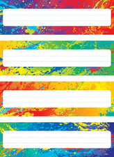 Splashy Colors Desk Toppers® Name Plates Variety Pack