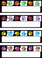 Paw Prints Desk Toppers® Name Plates Variety Pack