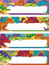 Dino-Mite Pals™ Desk Toppers® Name Plates Variety Pack