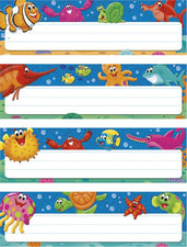 Sea Buddies™ Desk Toppers® Name Plates Variety Pack