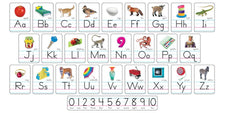 Photo Alphabet (Zaner-Bloser Manuscript) Bulletin Board Set