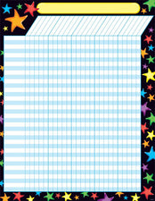 Gel Stars Incentive Chart–Large
