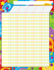 Praise Words 'n Stars Incentive Chart–Large