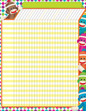 Sock Monkeys Incentive Chart–Large