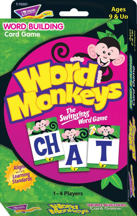 Word Monkeys™ Learning Game