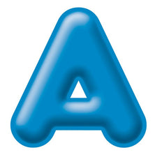 Blue 4-Inch 3-D Uppercase Ready Letters®