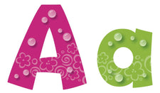 Bubbles 4-Inch Playful Combo Pack Ready Letters®