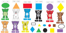 Colors & Shapes (ENG/SP) Bulletin Board Set
