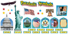 Patriotic Symbols Bulletin Board Set
