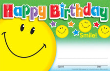 Happy Birthday (Smile) Recognition Awards