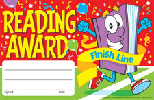 Reading Award (Finish Line) Recognition Awards