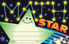 Math Star Recognition Awards