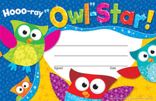 Hooo-ray Owl-Stars!® Recognition Awards