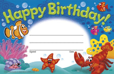 Happy Birthday! Sea Buddies™ Recognition Awards