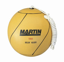 Tetherball Rubber Nylon Wound With Rope
