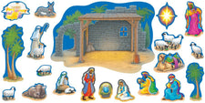 Nativity Bulletin Board Set