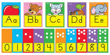 ABC Fun Alphabet–Zaner-Bloser Manuscript Bulletin Board Set