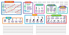 Music Symbols–Wipe-Off® Bulletin Board Set