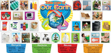 Reduce, Reuse, Recycle Bulletin Board Set