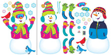 Playful Snow Pals Bulletin Board Set
