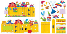 Furry Friends® Year-Round Fence Bulletin Board Set