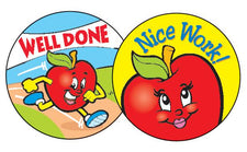 Amazing Apples – Apple Stinky Stickers® – Large Round