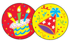 Big Birthday/Frosting Stinky Stickers®–Large Round