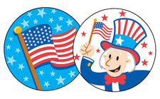 American Pride/Apple Pie Stinky Stickers®–Large Round