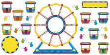 Ferris Wheel Job Chart Plus Bulletin Board Set