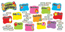 Birthday Festival Mini Bulletin Board Set
