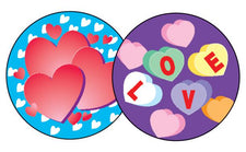 Valentine's Day/Cherry Stinky Stickers®–Large Round
