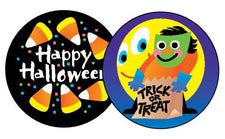 Halloween/Licorice Stinky Stickers®–Large Round