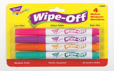 4-Pack Bright Colors Wipe-Off® Markers