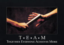 T*E*A*M: Together Everyone… ARGUS® Poster