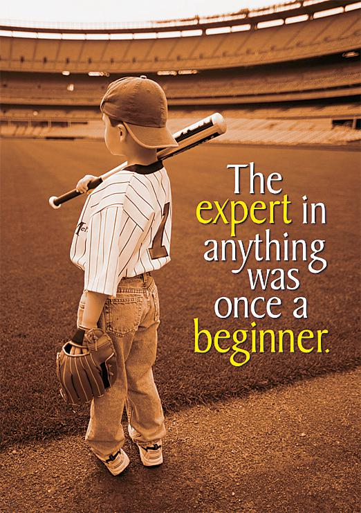 The expert in anything was… ARGUS® Poster