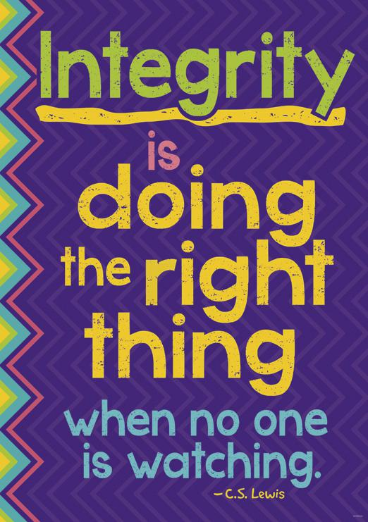 Trend Enterprises Integrity Is Doing The Right Thing When No One Is