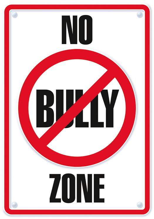 No Bully Zone ARGUS® Poster