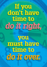 If you don't have time to… ARGUS® Poster