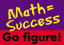 Math = Success Go Figure ARGUS® Poster