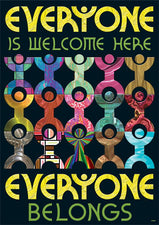 Everyone is welcome here... ARGUS® Poster