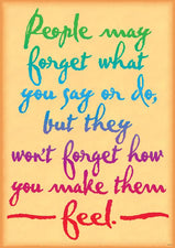 People may forget what you… ARGUS® Poster