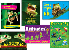 Awesome Attitude (Frogs) ARGUS® Posters Combo Pack