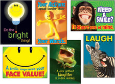Attitude & Smiles ARGUS® Posters Combo Pack