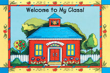 Schoolhouse Welcome To My Class Postcards