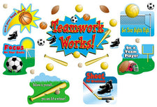 Sports & Teamwork Bulletin Board Set